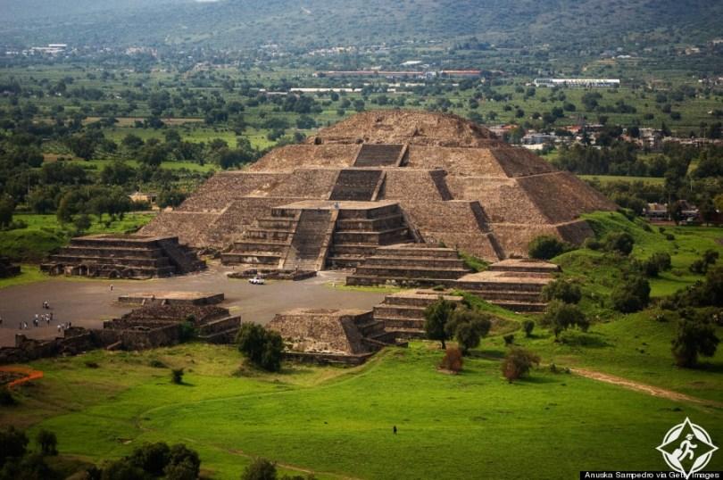 أهرامات تيوتيهواكان في المكسيك