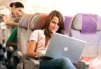 خدمات الواي فاي في طيران الإمارات