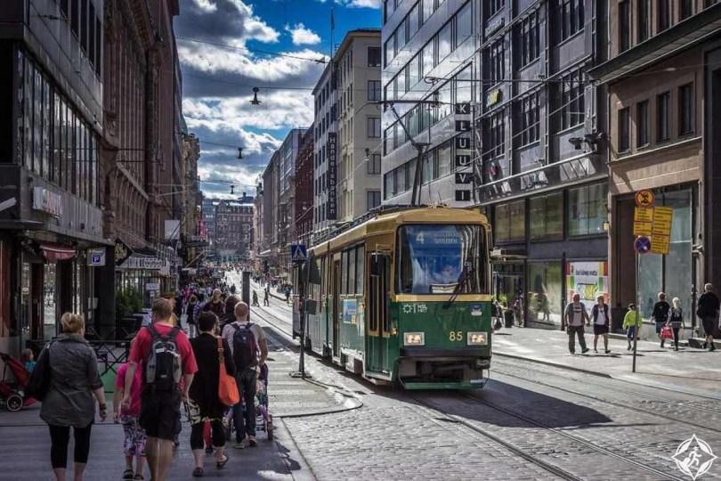 التسوق في هلسنكي