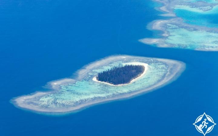 بحيرات كاليدونيا الجديدة