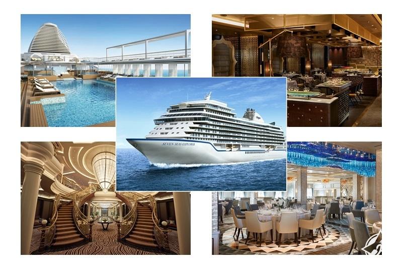 """""""مستكشف البحار السبع"""" .. أفخم سفينة سياحية في العالم على الإطلاق"""