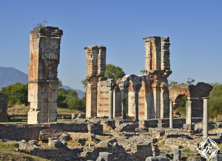 الموقع الأثري من فيلبي
