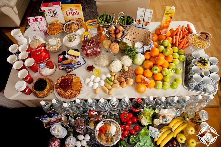 طعام النرويج