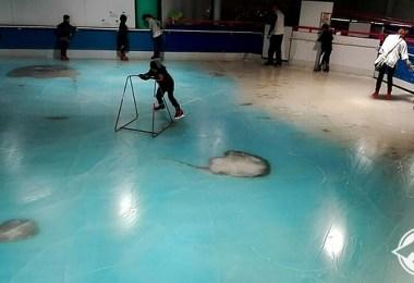 حلبة تزلج في اليابان