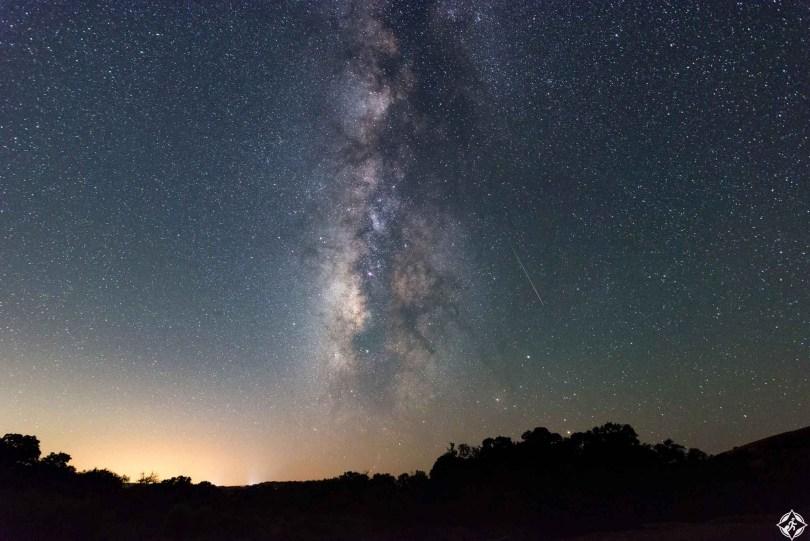 أمريكا-تكساس-زخة شهب بيرسيد-أجمل صور الفضاء