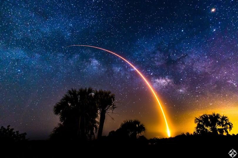 أمريكا-فلوريدا- صاروخ سبيس اكس فالكون 9-أجمل صور الفضاء