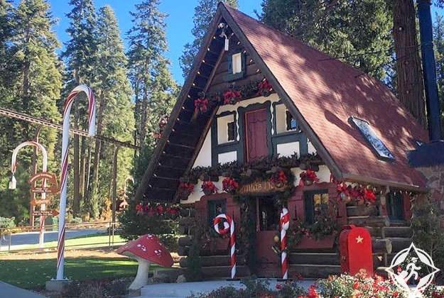 أمريكا-كاليفورنيا-قرية سانتا-صور الأسبوع
