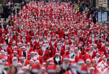 اسكتلندا-جلاسكو-بنود سانتا-صور الأسبوع