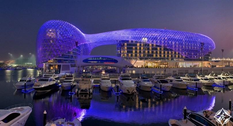 الإمارات-أبوظبي-فندق ياس فايسروي أبوظبي-أفضل فنادق خمس نجوم في أبوظبي