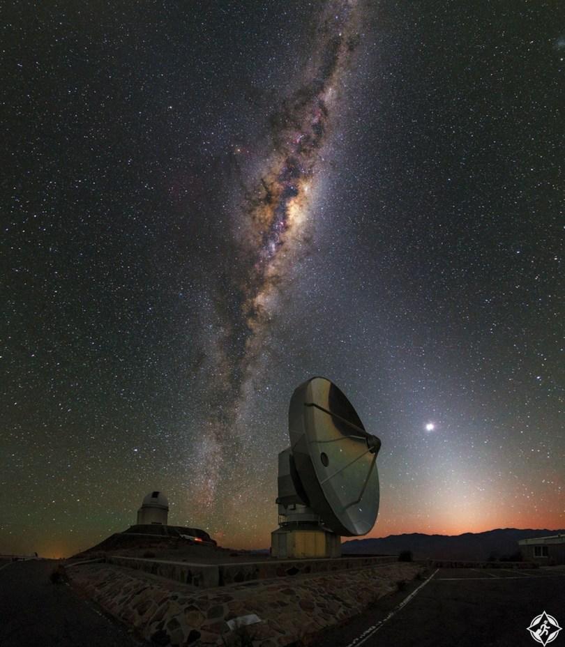 تشيلي-صحراء أتاكاما-مجرة درب التبانة-أجمل صور الفضاء
