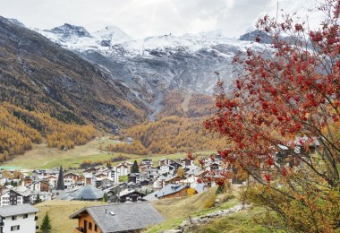 قرية ساس في سويسرا