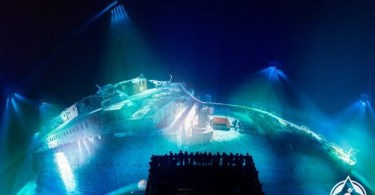 ألمانيا-لايبزيغ-حطام سفينة تيتانيك-معرض تيتانيك