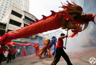 الفلبين-مانيلا-رقصة التنين-السنة القمرية الجديدة