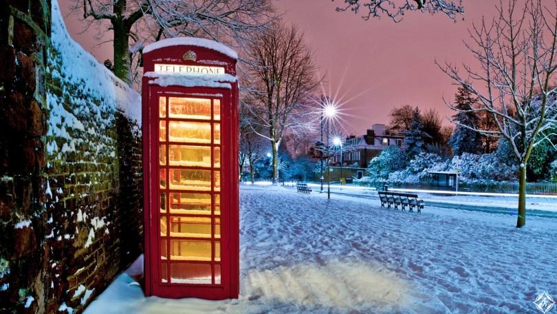 بريطانيا-لندن-هامبستيد-ثلوج-منتصف-الشتاء