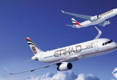 طيران الإمارات-الاتحاد للطران