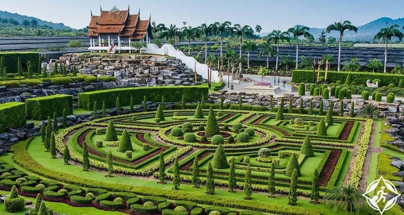 حديقة نونغ نوش الاستوائية هي عالم متكامل من الجمال بالقرب