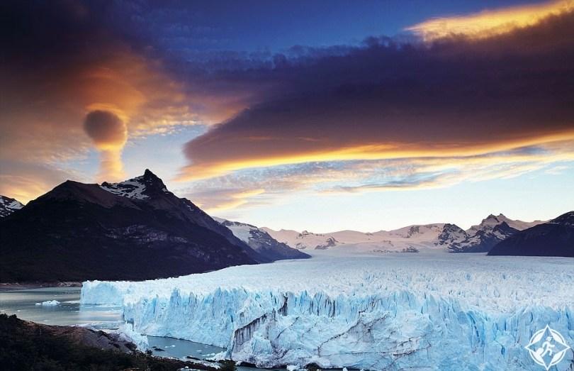 نهر بيريتو مورينو الجليدي