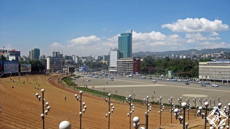 أديس أبابا - ساحة مسكل