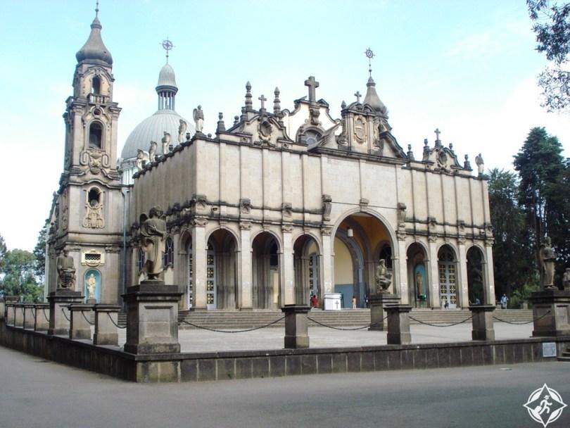 أديس أبابا - كاتدرائية الثالوث المقدس