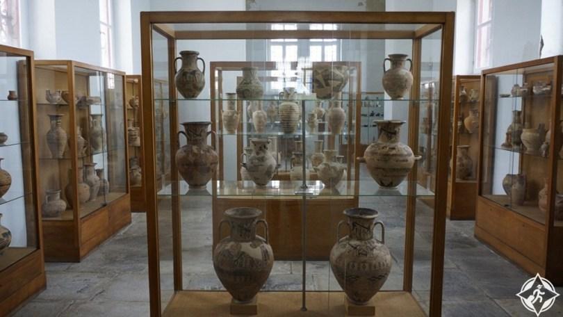 المتحف الأثري في جزيرة ميكونوس
