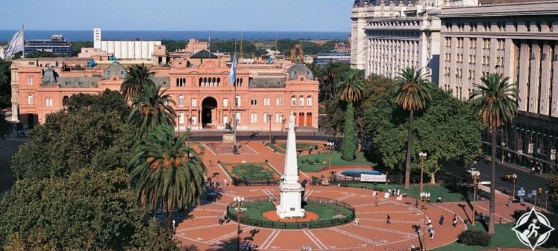 المعالم السياحية في بوينس آيرس - ساحة مايو