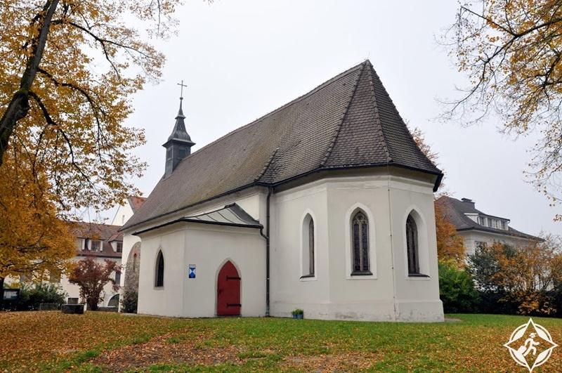 المعالم السياحية في لينز - كنيسة سانت مارتن