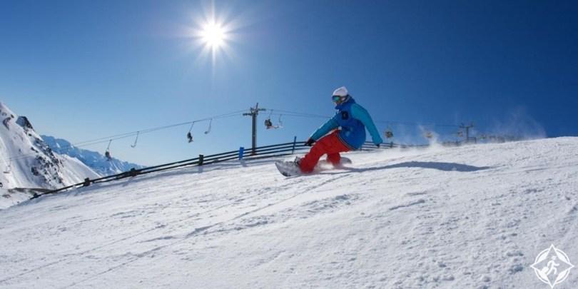 كوينز تاون - التزلج في ريماركابلز