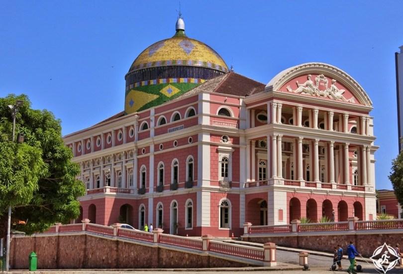 المعالم السياحية في ماناوس - تيترو أمازوناس