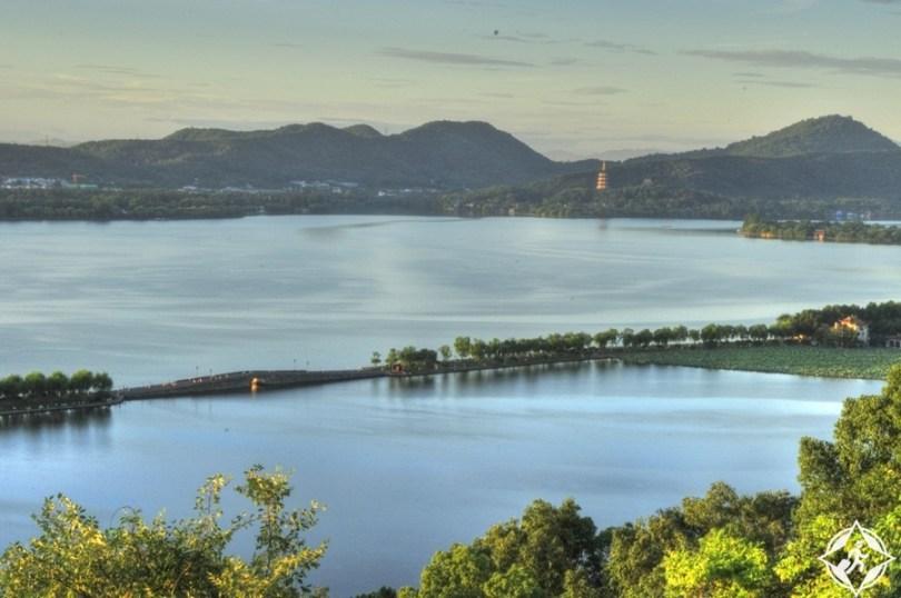 المعالم السياحية في هانغتشو - البحيرة الغربية