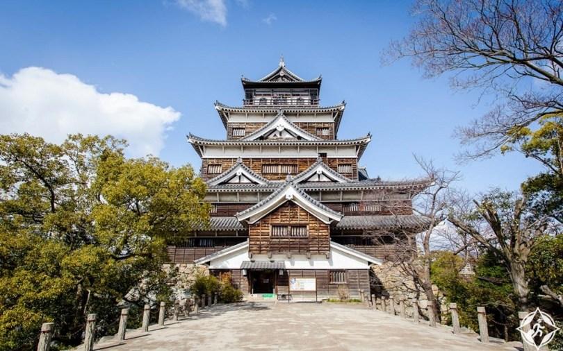 المعالم السياحية في هيروشيما- قلعة هيروشيما