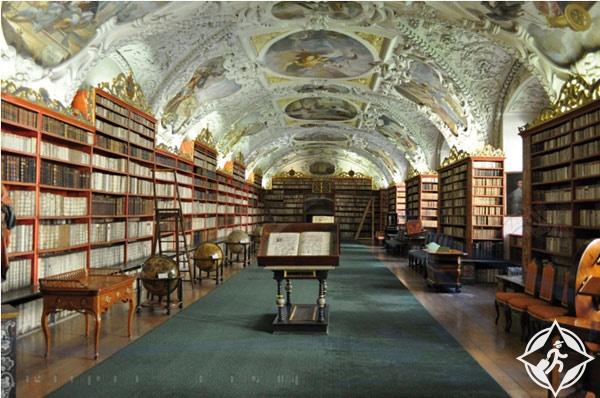 دير سانت كاترين-مكتبة