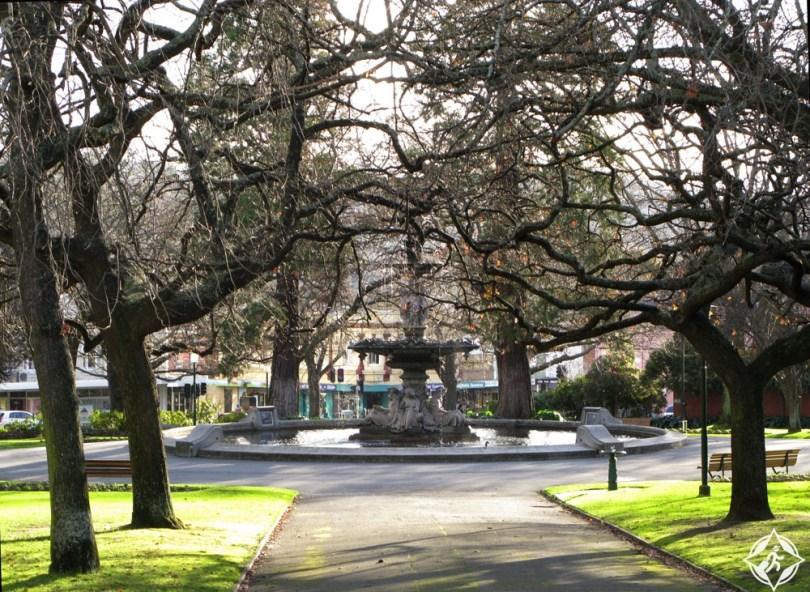 المعالم السياحية في لونسيستون - ساحة الأمير