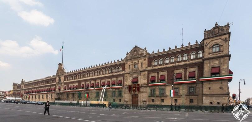 مكسيكو سيتي - القصر الوطني