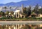 المعالم السياحية في لارنكا - مسجد هالة سلطان تيك