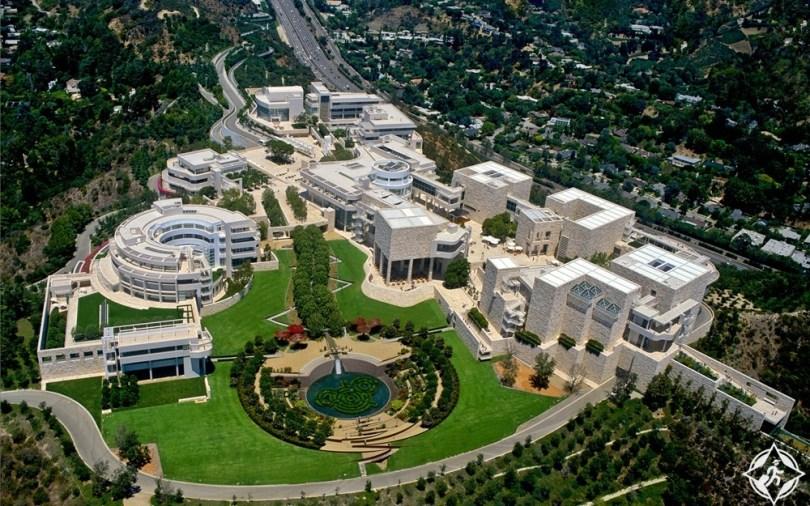 المعالم السياحية في لوس أنجلوس - مركز جيتي