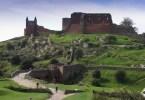 بورنهولم - أطلال قلعة حمرشوس