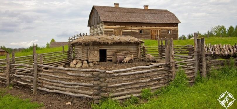 ادمونتون - قرية التراث الثقافي الأوكراني