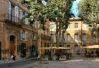 إيكس إن بروفانس - المدينة القديمة