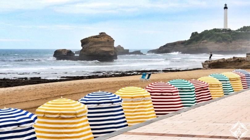 بياريتز - الشاطئ الكبير