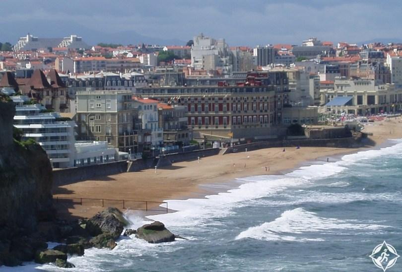 بياريتز - شاطئ ميرامار