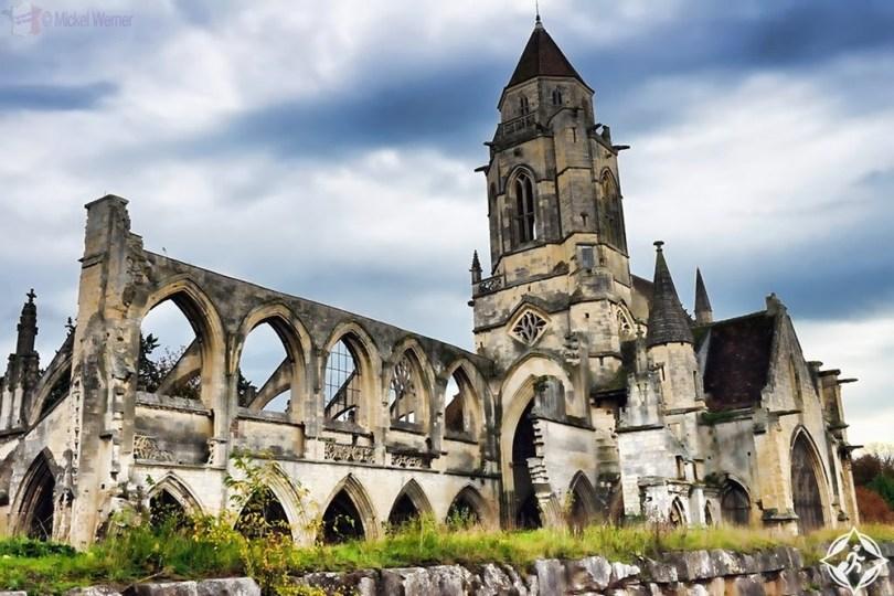 نورماندي - كنائس كاين والمركز التذكاري 2