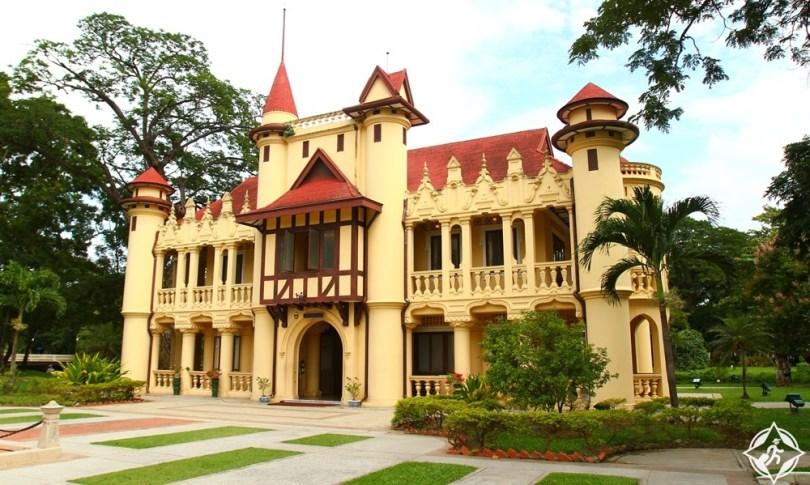 ناخون باثوم - قصر سنام تشان