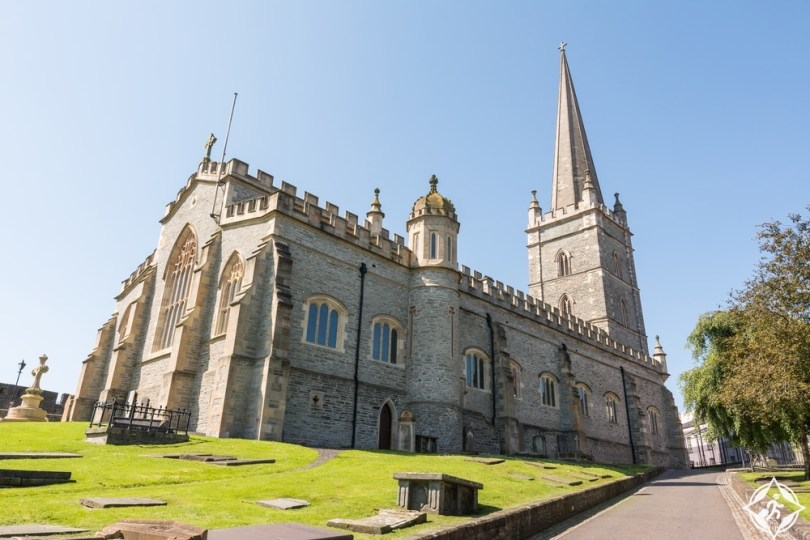 إيرلندا الشمالية-كاتدرائية القديس كولومبوس-مدينة ديري