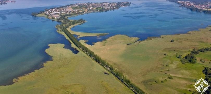 بحيرة كونستانس - المحميات الطبيعية