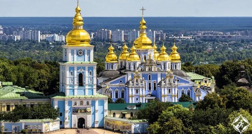 كييف - دير سانت مايكل ذو القبة الذهبية