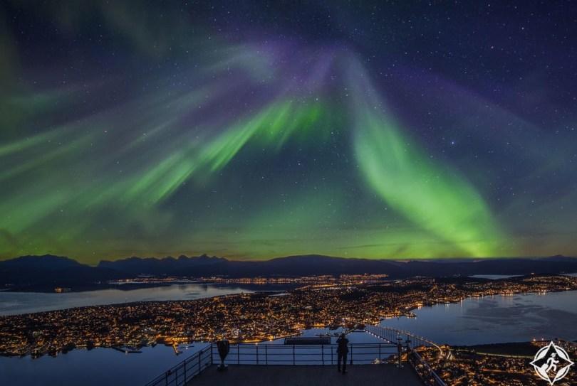 ترومسو - الشفق القطبي الشمالي