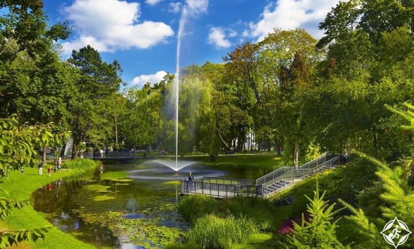 تشيستوخوفا - حدائق بودياسنوجرسكي