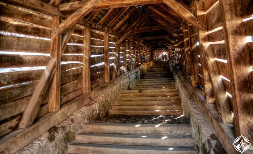 سيغيشوارا - الدرج المغطى