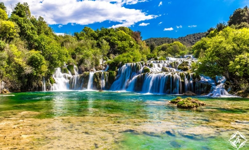 كرواتيا - شلال سكرادينسكي بوك