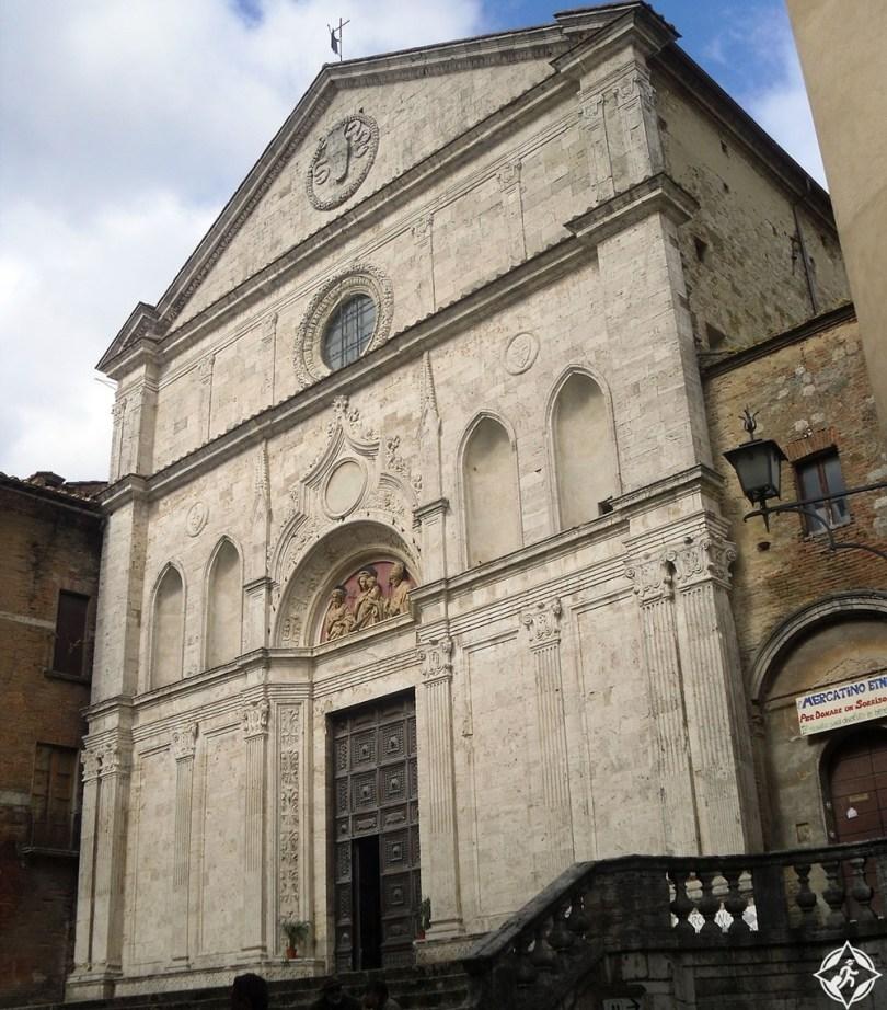 مونتيبولسيانو - كنيسة القديس أوغسطين